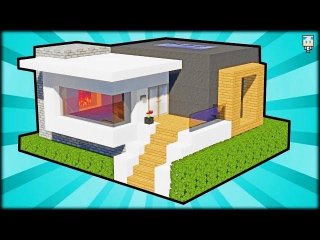 Minecraft Tuto Maison Moderne Facile Tuto Grande Maison Moderne