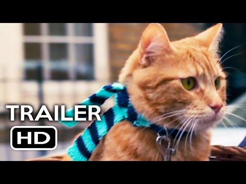 , title : 'A Street Cat Named Bob Official Trailer #1 (2016) Luke Treadaway, Joanne Froggatt Movie HD'