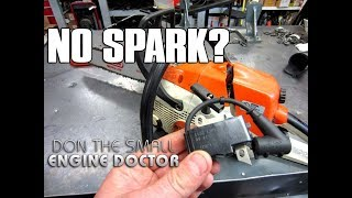 HOW-TO Fix A Chainsaw With No Spark - Ignition Module Replacement