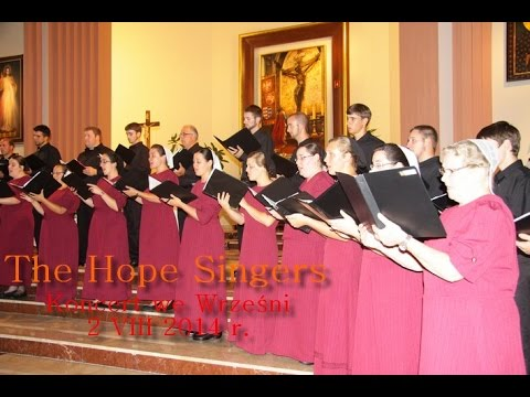The Hope Singers - concert in Wrzesnia