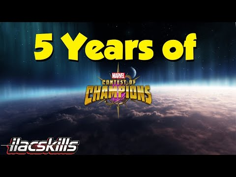 5 Years of #MCOC! Let's Grind... | Marvel Contest of Champions