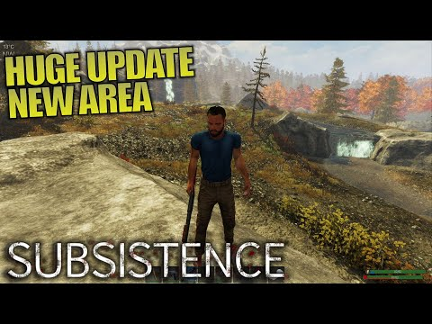 HUGE UPDATE NEW AREA | Subsistence | Let's Play Gameplay | E11