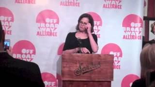 Off Broadway Alliance Awards June 18, 2013