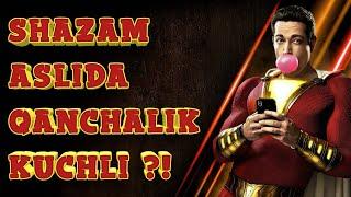 SHAZAM aslida qanchalik kuchli ?!    #Qanchalik loyihasi