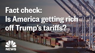 Fact Check: Is America Actually Getting Rich Off President Donald Trump