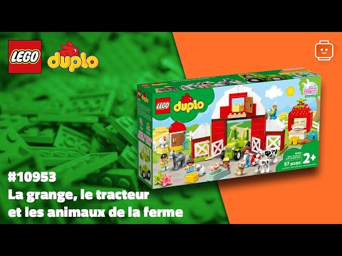 Vidéo LEGO Duplo 10952 : La grange, le tracteur et les animaux de la ferme