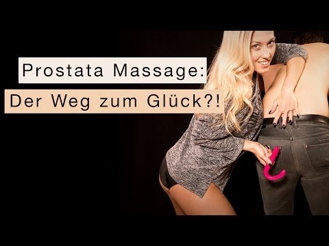 Video erotische Prostata-Massage