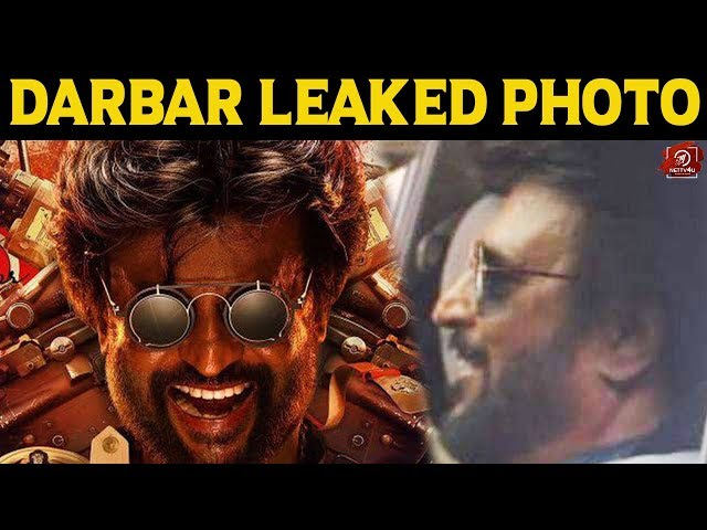 Darbar Leaked Photo Rajinikanth | Nayanthara | Sunil Shetty | Nivetha Thomas | Anirudh Ravichander