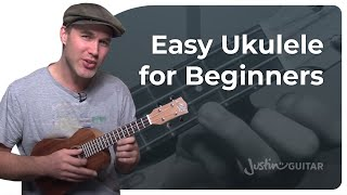 How To Play Ukulele - Beginner Lesson 1 - Easy Chords, Strumming And Songs