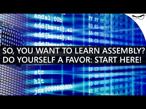 So, You Want to Learn Assembly? Start Here!