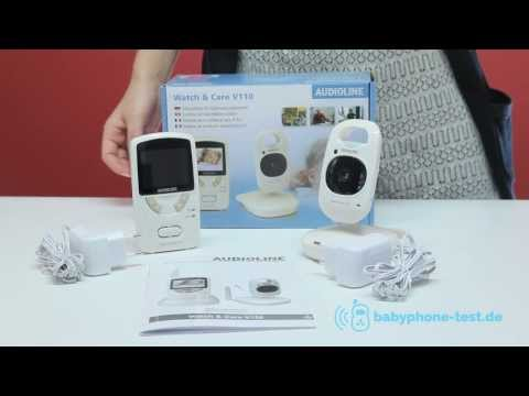 Audioline Watch & Care V 110 Babyphone im Praxistest: Audioline Watch & Care V 110 Video Review