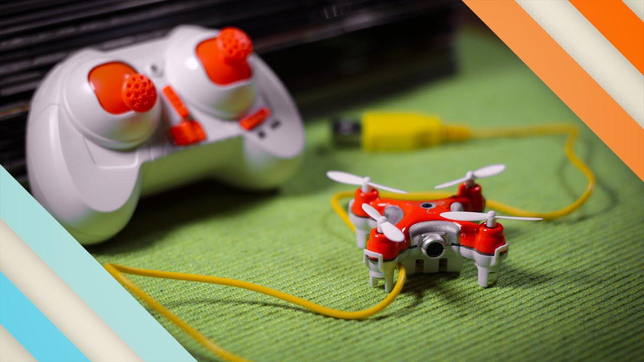 The World's Smallest Camera Quadcopter