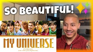 Coldplay X BTS - 'MY UNIVERSE' (Reaction)