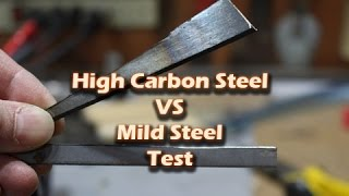 Why is high carbon steel stronger