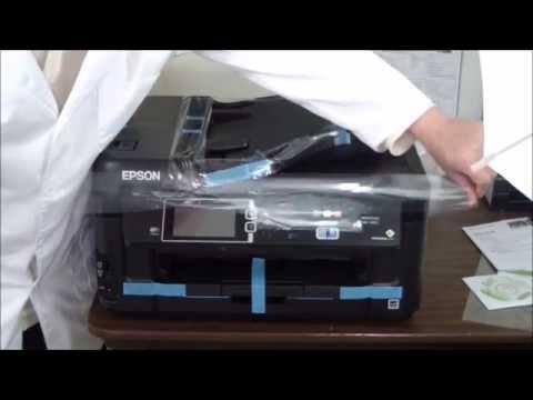 Epson WorkForce WF-7610 Unboxing & Setup