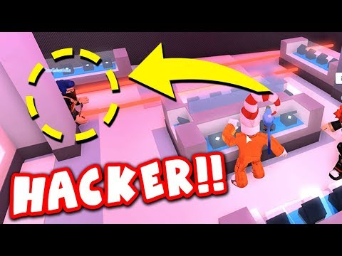 ARRESTED BY WALL HACKING COP IN JAILBREAK