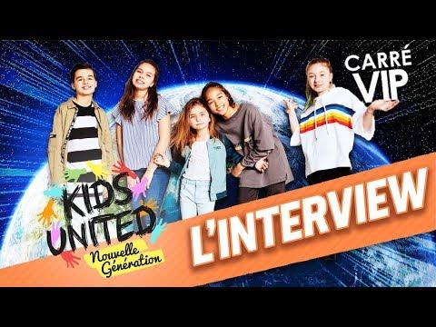 Kids United Nouvelle Génération l'interview