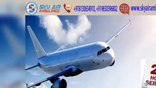 Choose Air Ambulance in Kolkata with Extraordinary Medical Features