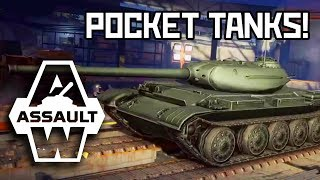 Camping with tanks in my pocket - Armored Warfare: Assault | Kholo.pk