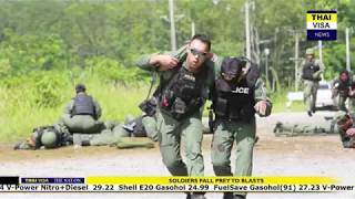 Thaivisa daily news - Soldiers fall prey to blasts