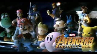 Super Smash Bros. Brawl Trailer (Avengers: Infinity War Style)