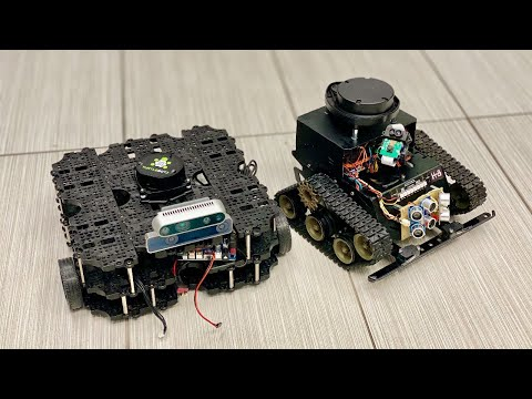 DJ's Test Bots (Turtlebot 3, And K-8)