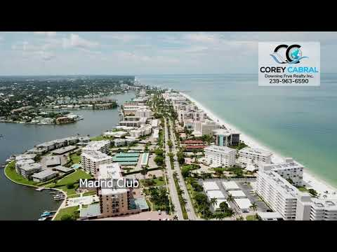 Moorings Homes and Condos Real Estate for Sale Flyover in Naples, Florida