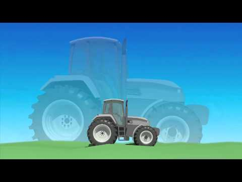 New Holland T6-Tier4A Tractor - T6 Terraglide&Comfort Ride cab suspension