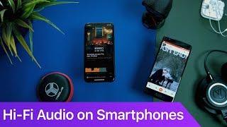 High Fidelity (Hi-Fi) Music on your Smartphone   FLAC   Vox   Google Play Music