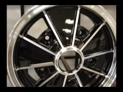 New selection of Air Cooled VW Beetle Wheels from Chirco.com