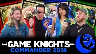 Commander 2018 w/ Kyle Hill and Cassius Marsh l Game Knights #20 l Magic the Gathering EDH Gameplay