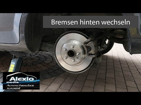ford mondeo ba7 mk4 change brake pads and rear brake discs