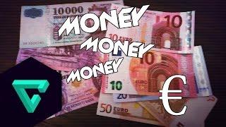 Új Forint, és Euro bankjegyek [HD] [M]