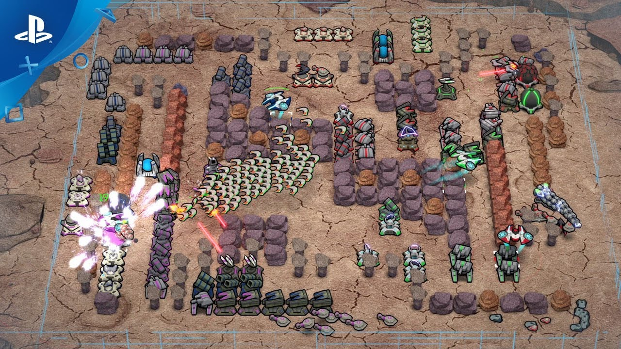 RTS / Tower Defense Hybrid Comet Crash 2 Hits PS4 August 8