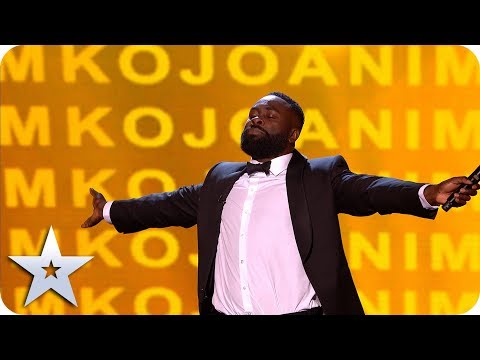 Comedian Kojo brings ALL the laughs to the BGT stage!   The Final   BGT 2019