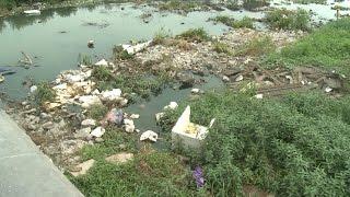 Tin Tức 24h: Hồ Tây ngập rác thải sau khi di dời nhà thuyền