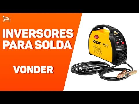 Kit Máquina Inversora de Solda 130A Display Digital Bivolt Vonder RIV136 + Esmerilhadeira Stanley STGS6115 4.1/2 Pol 600W  - Video