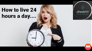 How to live 24 hours a day- Arnold Bennett. Book summary to retune our daily work habits.