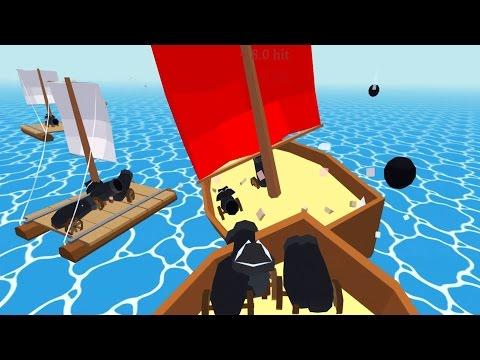 Raft Walkthrough - Pirate Ship Battles! Giant Pirate Ship