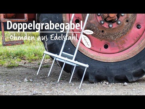 Hof Jeebel - Doppelgrabegabel - www.biogartenversand.de