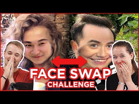 Prohozené obličeje youtuberů! FACE SWAP CHALLENGE s Katkou