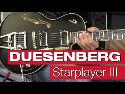 Duesenberg Starplayer III BK E-Gitarrenreview von session