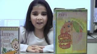 Mr. Paradises Class Cereal Box Book Report Commercials Part 2