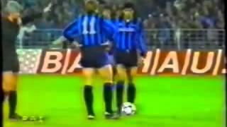 Amburgo - Inter 2-1 - Coppa U.E.F.A. 1984-85 - ottavi di finale - andata