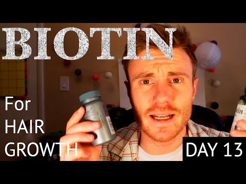 BEARD GROWTH UPDATE (DAY 13) BIOTIN OVERDOSING + SIDE EFFECTS + TIPS Advice Guide to a Thicker Beard