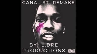 A$AP ROCKY (Ft. Bones) - Canal St. Instrumental (Remake by L.Dre Productions)