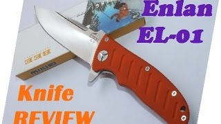 Enlan EL-01 knife review. Chinese good value good budget brand.