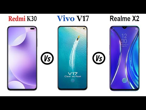 Vivo V17 Vs Redmi K30 5G Vs Realme X2 - Full Speed Comparison Hindi.