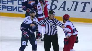 KHL fight: Osala VS Sergeyev, Telegin shy to fight Khabarov