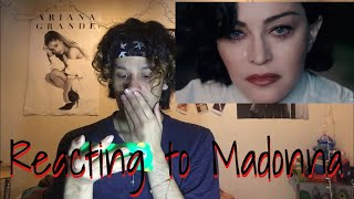 Reacting To Madonna   God Control ( Music Video Reaction )